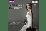 Laura Ruiz Ferreres, Danjulo Ishizaka, Mandelring Quartett, Christoph Berner - Sämtliche Werke Für Klarinette [SACD]