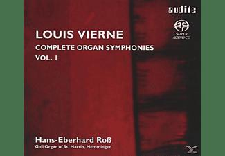 Hans-eberhard Ross - Sämtliche Orgel-Sinfonien Vol.1  - (SACD Hybrid)