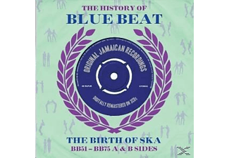 VARIOUS - The History Of Blue Beat  - (CD)