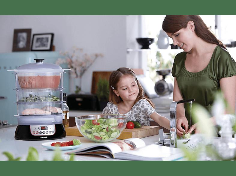 Dampfgarer-Philips-Familie