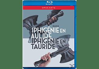 Minkowski/Les Musiciens Du Luv, Minkowski/Gens/Haller/von Otter - Iphigenie En Aulide/Iphigenie En Tauride  - (Blu-ray)
