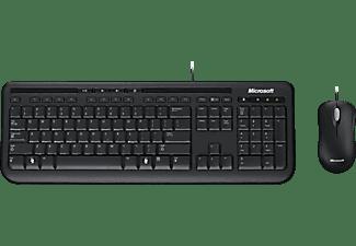 MICROSOFT Tastatur + Maus Wired Desktop 600 (APB-00008)