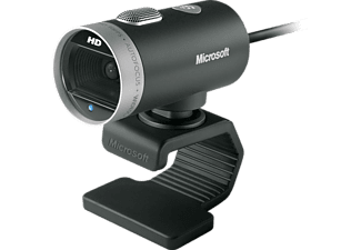 MICROSOFT LifeCam Cinema - Webcam (Noir/Argent)