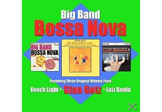 Stan Getz, Enoch Light, Luiz Bonfá, Big Band Bossa Nova, Le Roi Du Bossa Nova - Big Band Bossa Nova  - (CD)