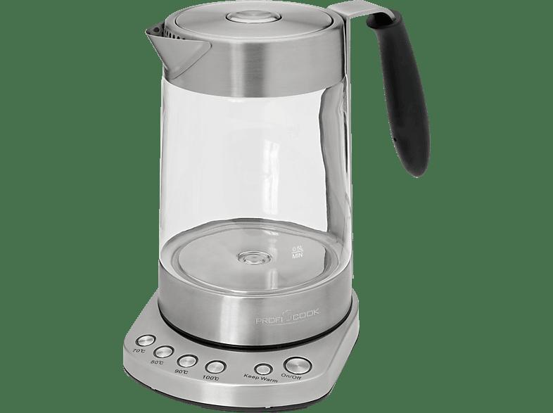 PROFI COOK PC-WKS 1020 G Wasserkocher, Silber