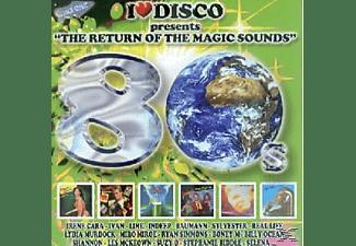 VARIOUS - I Love Disco 80's Vol.4  - (CD)