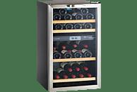 CLIMADIFF CV41DZX Weinklimaschrank (240 kWh/Jahr, EEK C, Schwarz)
