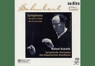 """Rafael & Symphonie-orchester Des Bayerischen Rundfun Kubelik, R./SOBR Kubelik - Sinfonien 8 """"Die Grosse"""" &  - (SACD Hybrid)"""