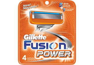 GILLETTE Fusion Power Men's rakblad, 4-pack