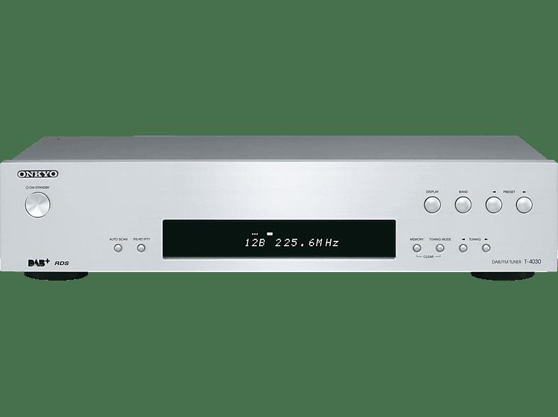 ONKYO T-4030 (S) DAB+, DAB, FM Tuner (Silber)