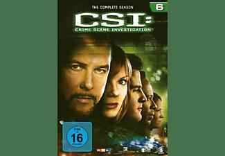 CSI: Crime Scene Investigation - Staffel 6 DVD