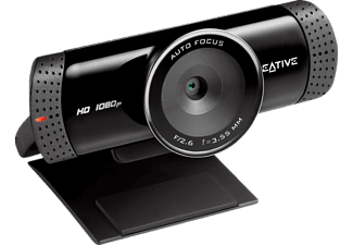 Webcam - Creative Live Cam Connect HD, 720p, micrófono integrado