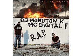 Dj Monoton K, Mc Digital F - R.A.P.  - (CD)
