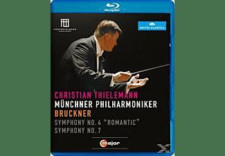 Thielemann Christian, Christian/mp Thielemann - Thielemann Dirigiert Bruckner  - (Blu-ray)