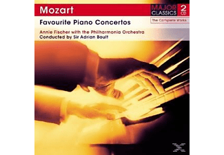 Annie Fischer, The Philharmonia Orchestra - Favourite Piano Concertos  - (CD)