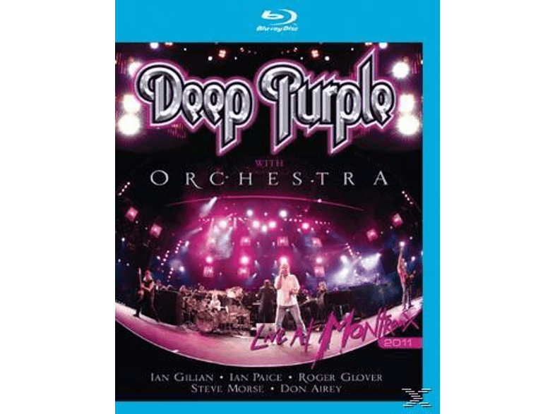 Deep Purple With Orchestra - Live At Montreux 2011 (Bluray) [Blu-ray]