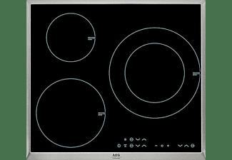 Encimera - AEG HK633220XB Inducción, 3 zonas de cocción, Zona 28 cm