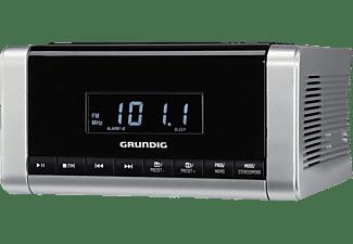 GRUNDIG CCD 5690 SPCD Radio-Uhr, Ja, Silber