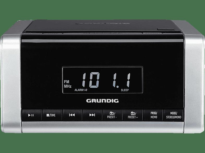 GRUNDIG CCD 5690 SPCD Radio-Uhr (Tunertyp, UKW, Silber)