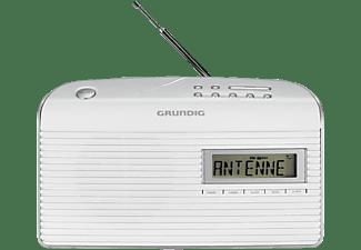 GRUNDIG Music 61 Tragbares Radio, Digital, Weiß