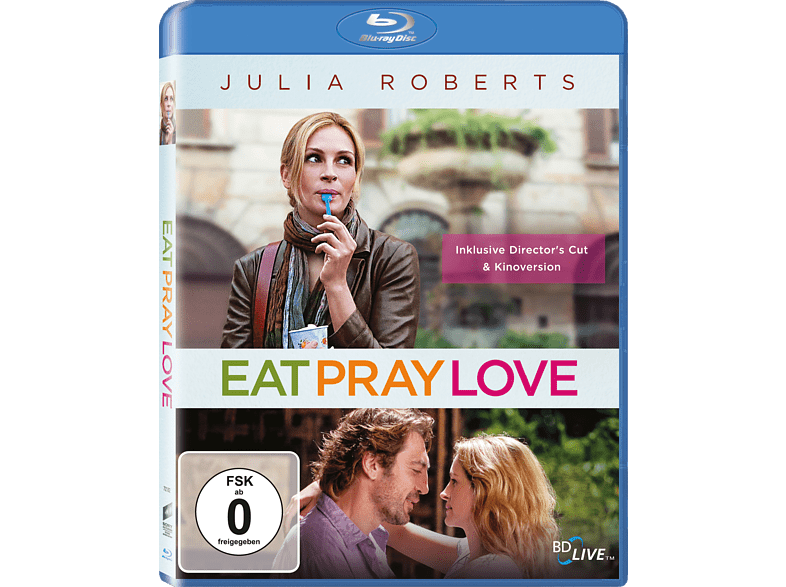 Eat, Pray, Love [Blu-ray]