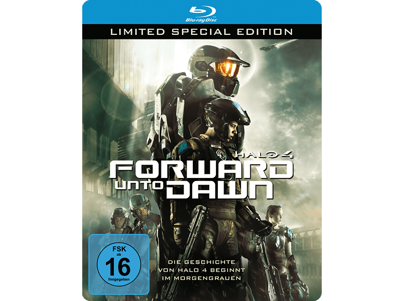Halo 4 - Forward Unto Dawn (Limitierte Steelbook Edition) [Blu-ray]