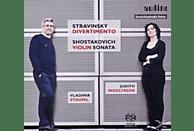 INGOLFSSON,JUDITH & STOUPEL,VLADIMIR - Divertimento/Violinsonate op.134 [SACD Hybrid]