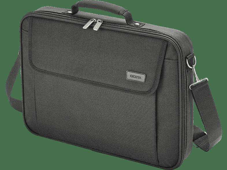 DICOTA D30447-V1 Multi Base Notebooktasche, Umhängetasche, 17.3 Zoll, Schwarz