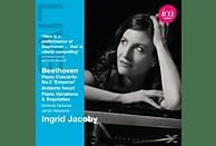 Ingrid Jacoby, The Sinfonia Varsovia - Piano Concerto No.5 'Emperor' / Andante favori / Piano Variations & Bagatelles [CD]