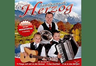Familienmusik Herzog - Ja in den Bergen  - (CD)