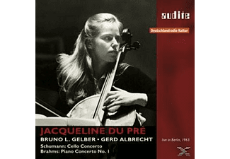 Gerd Albrecht, Radio Sinfonie Orchester Berlin, Du Pre Jacqueline - Cello Concerto/Piano Concerto-Live In Berlin 1963  - (CD)
