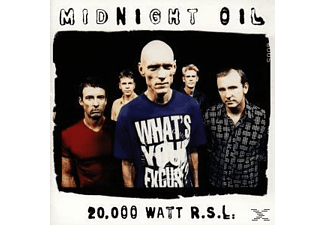 Midnight Oil - 20000 WATT RSL-THE MIDNIGHT OIL COLLECTION  - (CD)