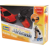 REVELL 39196 Airbrush Starter Set, Mehrfarbig