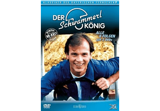 Der Schwammerlkönig - Die komplette Serie (Folgen 01-06) DVD