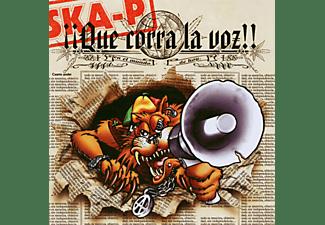 SKA-J. - QUE CORRA LA VOZ  - (CD)