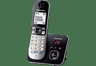 PANASONIC Schnurlostelefon KX-TG6821, schwarz