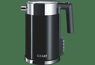 GRAEF WK 702 Wasserkocher, Schwarz