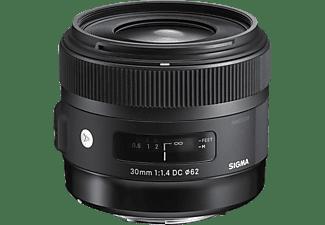 SIGMA 301954 - 30 mm f/1.4 DC, HSM (Objektiv für Canon EF-Mount, Schwarz)