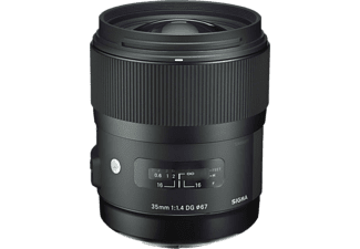 SIGMA 340955 - 35 mm f/1.4 DG, HSM (Objektiv für Nikon F-Mount, Schwarz)