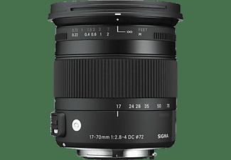 SIGMA 884954 17 mm - 70 mm f/2.8-4 OS, IF, DC, ASP, HSM (Objektiv für Canon EF-Mount, Schwarz)