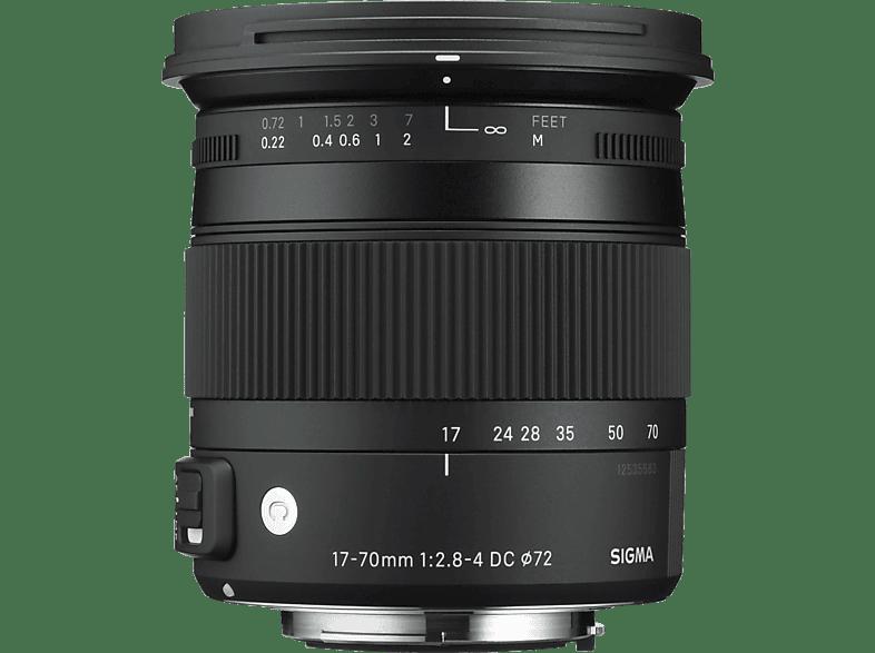 SIGMA 884961  für Pentax K-Mount, 17 mm - 70 mm, f/2.8-4