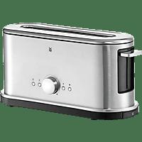 WMF 04.1406.0012 Lineo Toaster Edelstahl matt/Schwarz (900 Watt, Schlitze: 1)