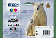 EPSON Original Tintenpatrone mehrfarbig (C13T26364010)