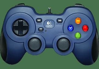 LOGITECH F310 Gamepad Schwarz, blau