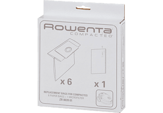 ROWENTA ZR 0039 Compacteo 6x Staubsaugerbeutel + 1x Mikrofilter