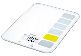 Balanza de cocina - Beurer KS 19 Peso máximo 5Kg, Escala de medición 1g, Display digital