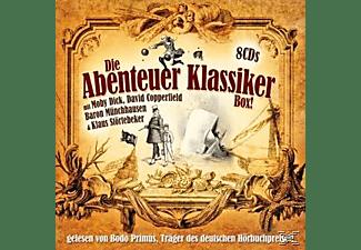 MELVILLE, DICKENS, BÜRGER, ETC. - Die Abenteuer Klassiker Box  - (CD)