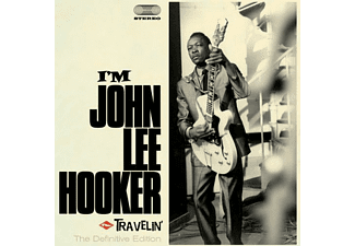 John Lee Hooker - I'm John Lee Hooker + Travelin  - (CD)