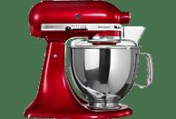 KITCHENAID 5KSM150PSECA Artisan Küchenmaschine Rot (Rührschüsselkapazität: 4,83 Liter, 300 Watt)