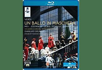 Orchestra/Coro Teatro Regio Pa, Gelmetti/Meli/Stoyanov - Ein Maskenball  - (Blu-ray)